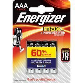 Батарейки Energizer Max E91 AAА 4 шт.