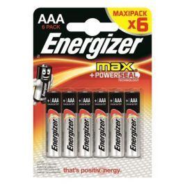 Батарейки Energizer E92 ААА 6 шт.