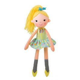 Мягкая игрушка Мир детства «Кукла Мармеладка» желтая
