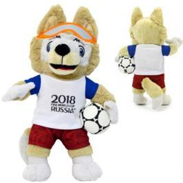 Мягкая игрушка FIFA «Zabivaka» 21 см