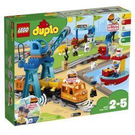 Конструктор LEGO DUPLO Town 0 10875 Грузовой поезд