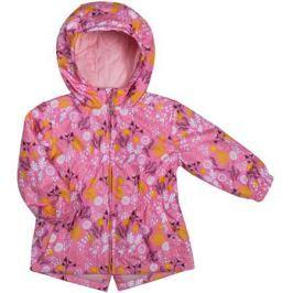 Куртка для девочки Barkito, розовая с рисунком