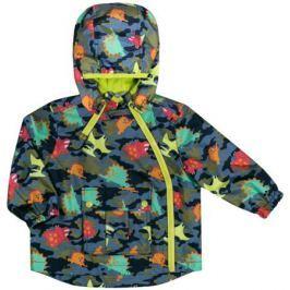 Куртка для мальчика Barkito, темно-синяя с рисунком «динозавры»