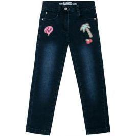 Брюки модель «Джинсы» для девочки Barkito «Деним», темно-синие