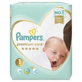Подгузники Pampers Premium Care Newborn 1 (2-5 кг) 72 шт.