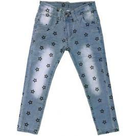 Брюки модель «Джинсы» для девочки Barkito «Деним», голубые