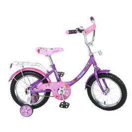 """Велосипед двухколесный Navigator «Basic 14""""» розово-фиолетовый"""