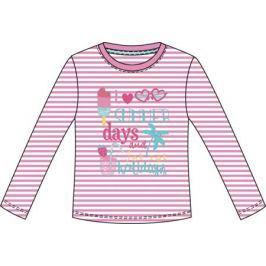 Футболка с длинным рукавом для девочки Barkito «Сладкоежка-1», розовая
