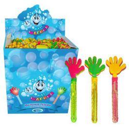 Мыльные пузыри 1Toy «Мы-шарики!: Колба с ладошкой-трещоткой» 70 мл в ассортименте