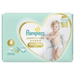 Трусики-подгузники Pampers Premium Care Pants Maxi 4 (9-15 кг) 38 шт.
