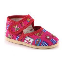 Туфли для девочки Домашки розовые