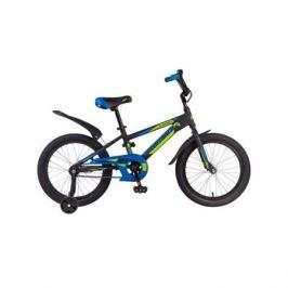 """Велосипед Novatrack Lumen 18"""" черный"""