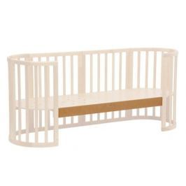 Опорная планка для кроватки Polini «Simple 910» бук