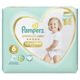 Трусики-подгузники Pampers Premium Care Pants Extra 6 (от 15 кг) 31 шт.