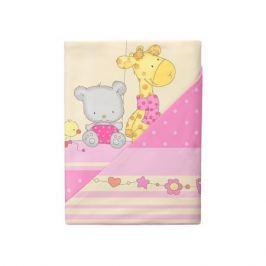 Комплект постельного белья Облачко «День Рождения» простынь на резинке