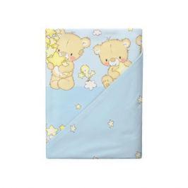 Комплект постельного белья Облачко «Мишки-малышки» простынь на резинке
