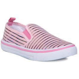 Полуботинки школьные для девочки Barkito, розовые