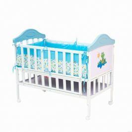 Кроватка Babyhit «Sleepy» металлическая Blue