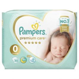 Подгузники Pampers Premium Care Newborn 0 (1,5-2,5 кг) 30 шт.