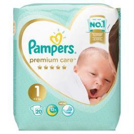 Подгузники Pampers Premium Care Newborn 1 (2-5 кг) 20 шт.