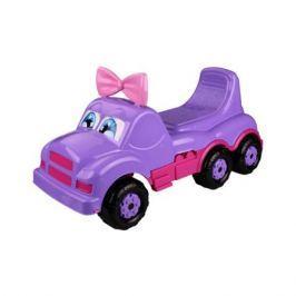 Каталка-машинка Весёлые гонки фиолетовая