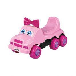 Каталка-машинка Весёлые гонки розовая