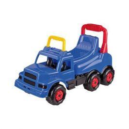 Каталка-машинка Весёлые гонки синяя