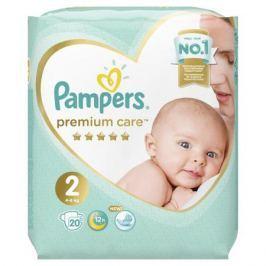 Подгузники Pampers Premium Care Mini 2 (4-8 кг) 20 шт.