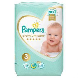 Подгузники Pampers Premium Care Midi 3 (6-10 кг) 18 шт.