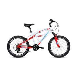 Велосипед двухколесный Forward «Benfica 20» белый/красный