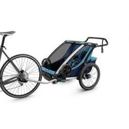 Коляска мультиспортивная (велоприцеп) Thule «Chariot Cross-2» голубой