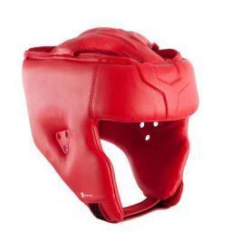 Открытый Шлем Для Тренировок И Соревнований По Боксу - Красный