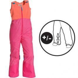 Детский Лыжный Полукомбинезон Розового Абрикосового Цвета Slide 100 Pull'n Fit