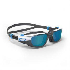 Очки Для Плавания Spirit Размер S Черно-синие Зеркальные