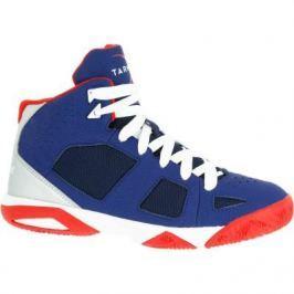 Баскетбольные Кроссовки Strong 300 Детские Для Продвинутого Уровня Синие Красные