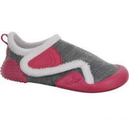 Обувь Для Гимнастики Для Малышей Серая/розовая/белая Подкладка
