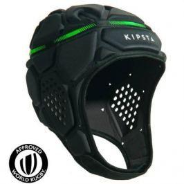Шлем Для Регби R500 Темно–серый Зеленый