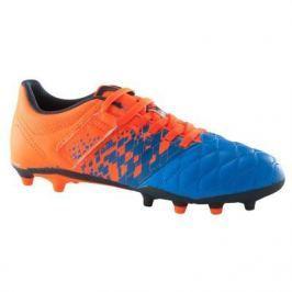 Детские Футбольные Бутсы Для Сухих Покрытий Agility 500 Fg Синие Оранжевые