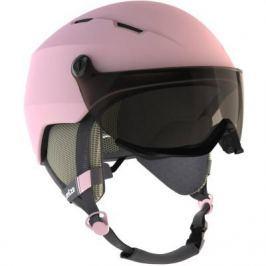 Горнолыжный Шлем Для Взрослых H 350 Розового Цвета.