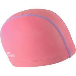 Шапочка Для Купания Ткань Силикон Розово-фиолетовая