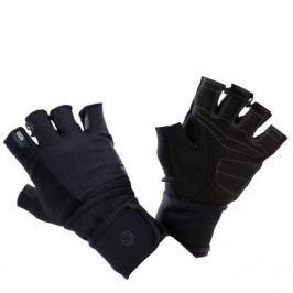 Перчатки Для Силовых Тренировок С Двойным Ремешком На Липучке