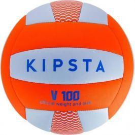 Волейбольный Мяч V100 Синий И Оранжевый