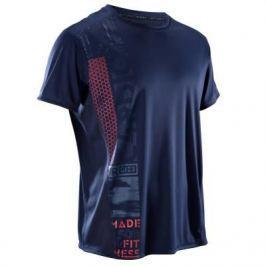 Мужская Футболка Для Фитнеса И Кардиотренировок Fts120 Синяя Принт