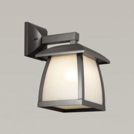 Odeon Light 4049/1W ODL18 713 темно-серый/матовый белый Уличный настенный светильник IP44 E27 100W 220V TAKO