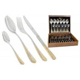Face Набор столовых приборов 24 предмета на 6 персон Ankara в деревянной коробке.