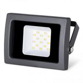 Wolta Светодиодный прожектор WFL-10W/03, 5500K, 10 W SMD, IP 65,цвет серый, слим