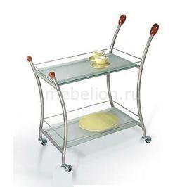 Стол сервировочный Мебелик Поло металлик