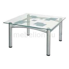 Стол журнальный Мебелик Робер 2М металлик
