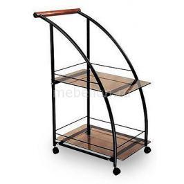 Стол сервировочный Мебелик Баккара черный