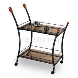 Стол сервировочный Мебелик Поло черный